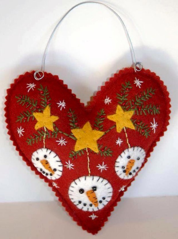 Christmas Decor Heart