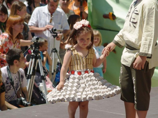 Costumes Made with Recycled Material