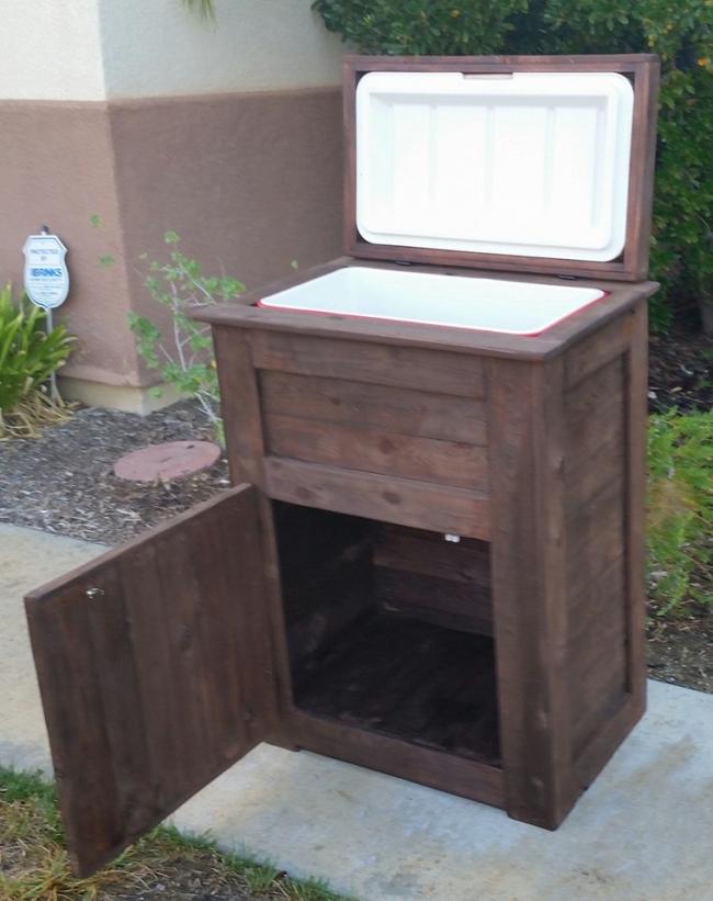 Custom Wood Cooler Ideas
