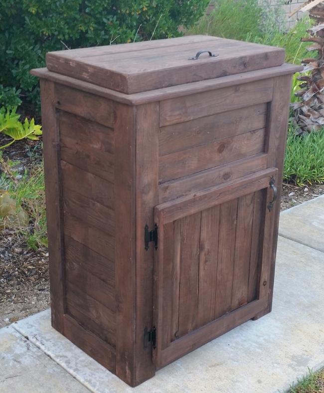 Custom Wood Cooler Plans