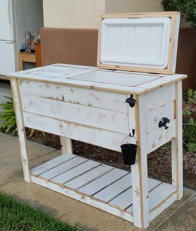 Custom Wood Cooler Projects 2
