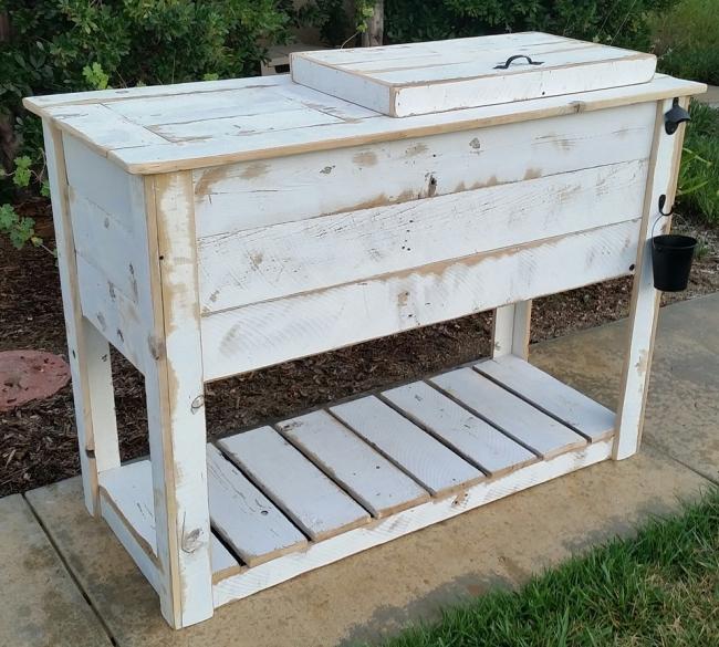 Custom Wood Cooler Projects