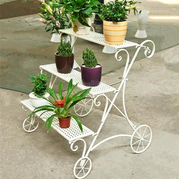 Pot Stand Designs : Iron pot stand ideas upcycle art