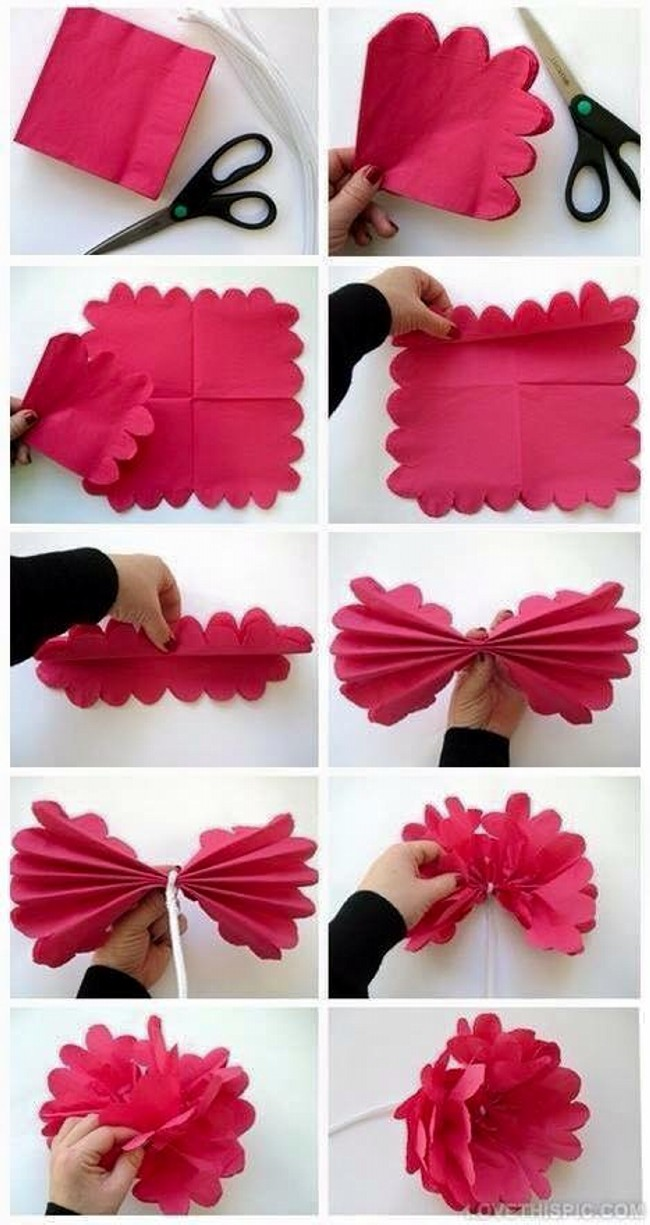 DIY Paper Flower Plan