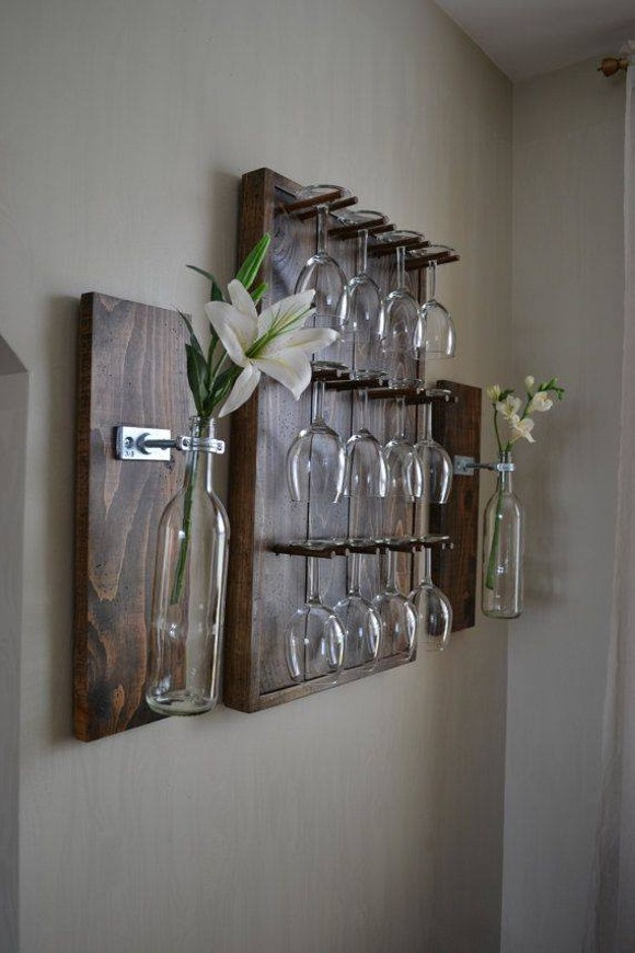 Pallet Bottle Racks