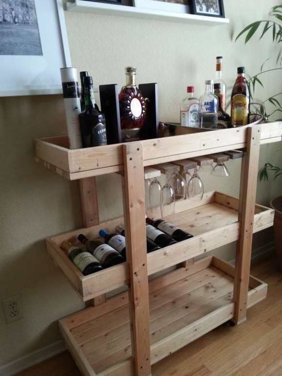 Pallet Wine Racks And Bar Ideas Upcycle Art