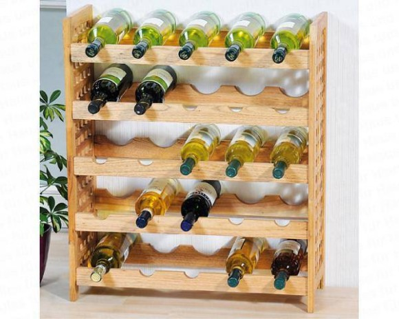 Pallet Wine Racks Project