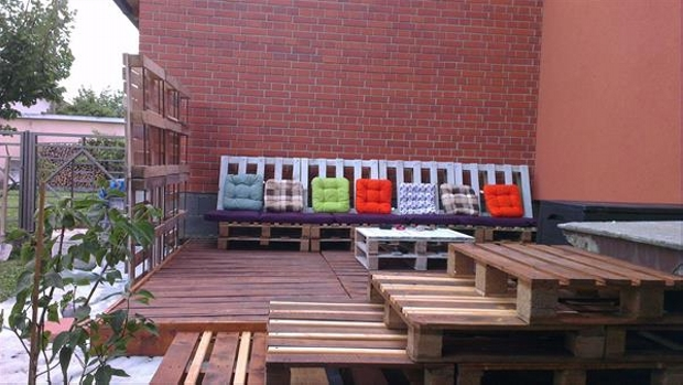 Pallet Woden Deck Ideas