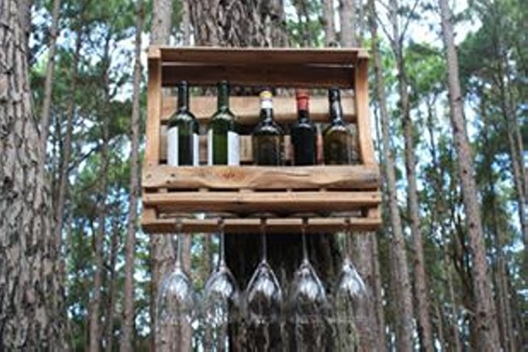 Pallet Wood Wine Racks