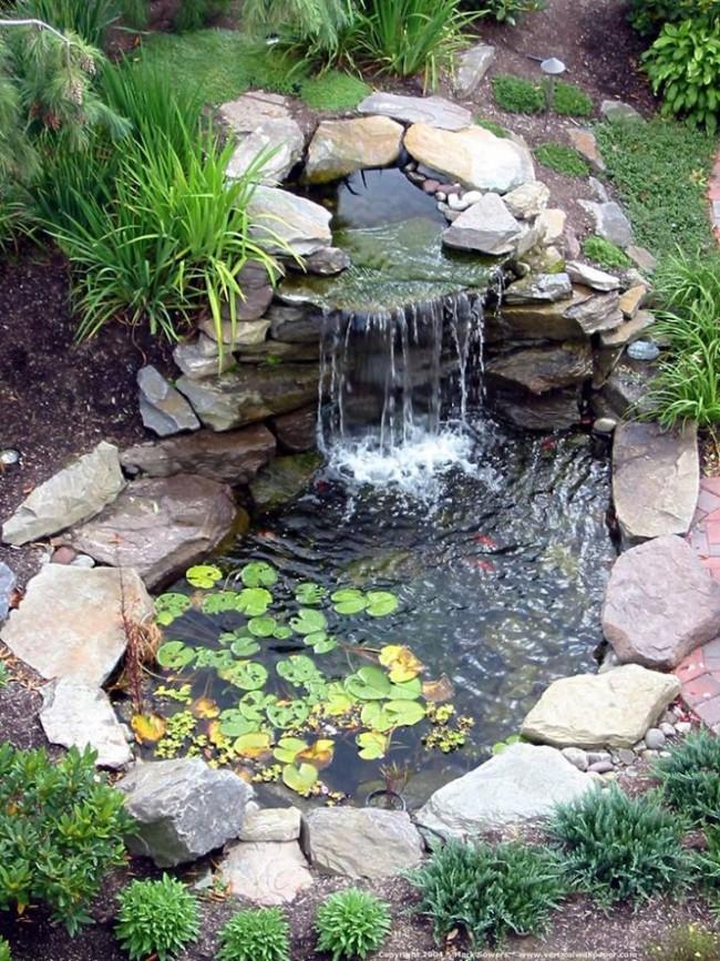 Recycled Garden Fountain