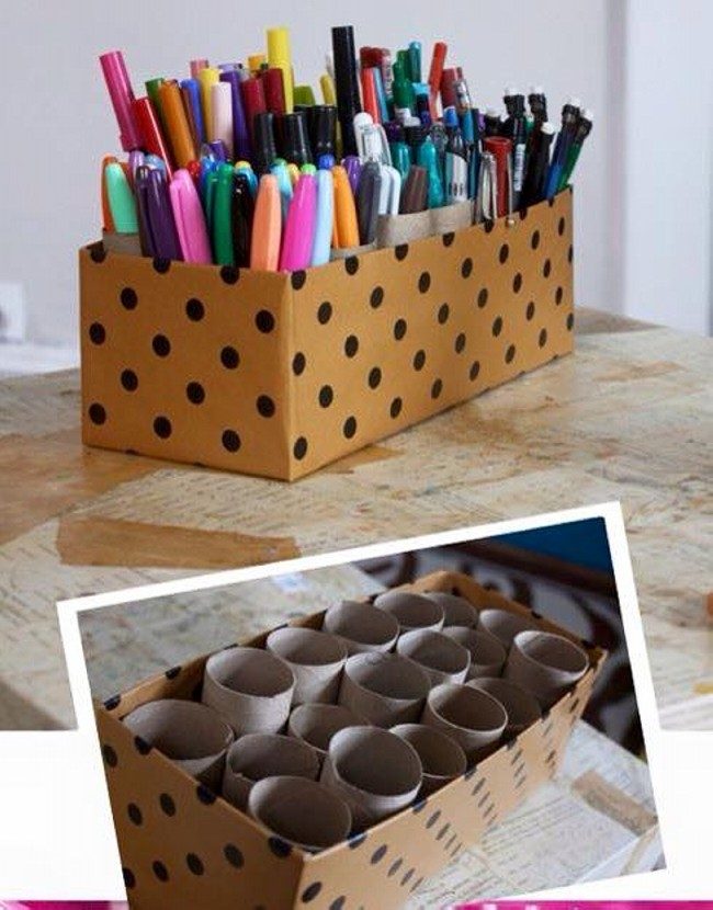 Shoe Boxes Recycle Ideas
