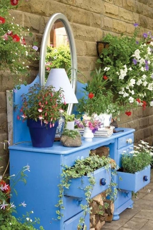 Upcycled Garden Planters