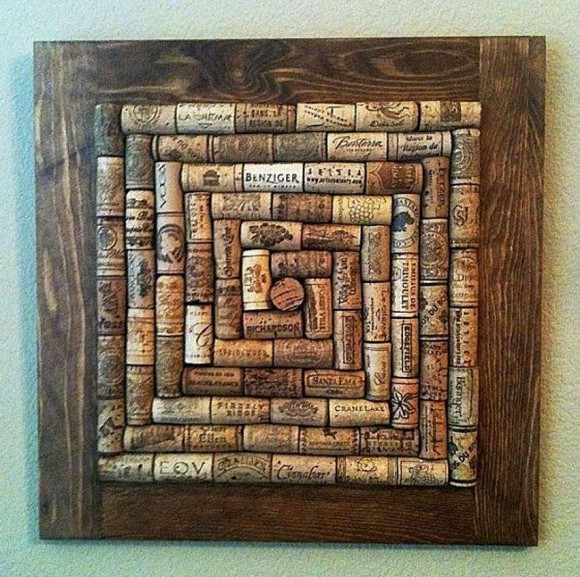 Wine Corks Wall Decor
