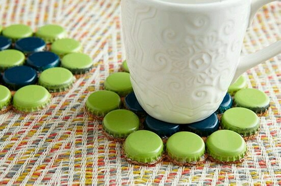 Bottle Caps Upcycling