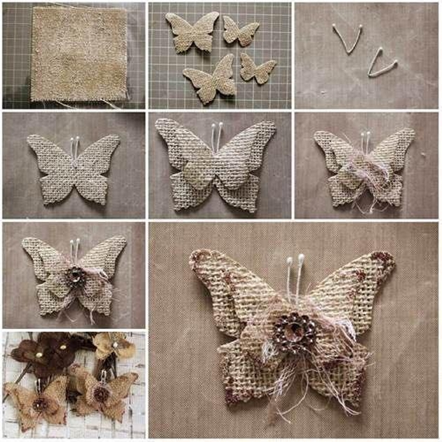 Burlap upcycling ideas for ornaments upcycle art for Diy jute