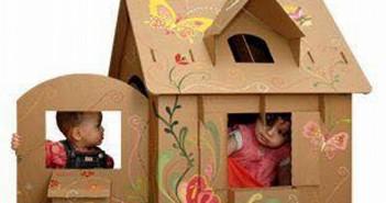 Cardboard Kids Houses