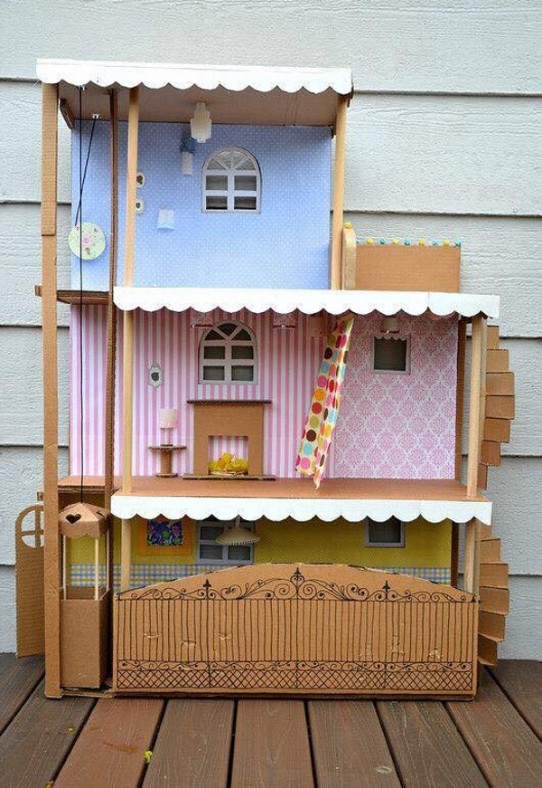Cardboard Kids Houses Projects
