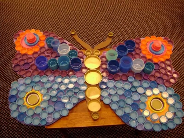 Crafts Ideas with Bottle Caps
