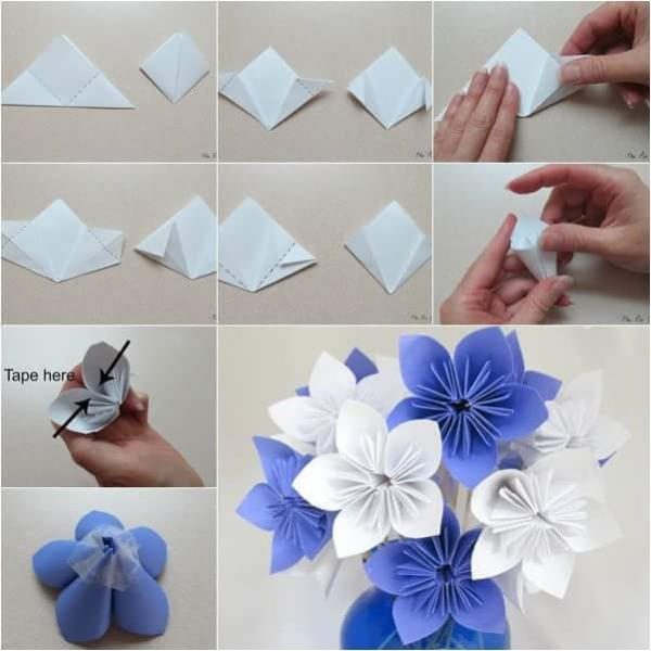 DIY Paper Flower Projects | Upcycle Art