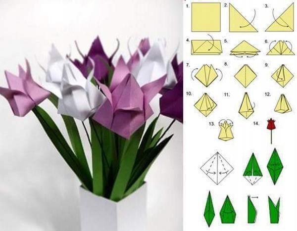 DIY Paper Flower Patterns
