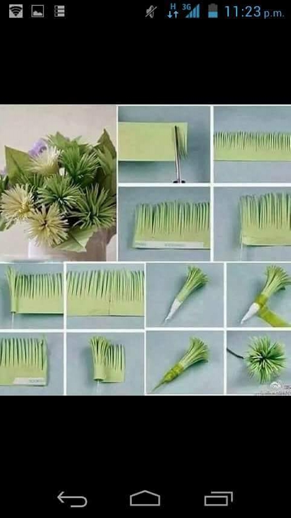 DIY Paper Flower Project