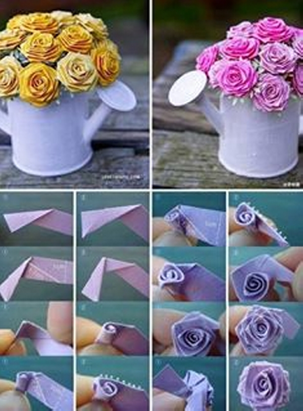 DIY Paper Flower Projects