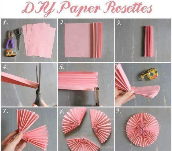 DIY Paper Rostess Projects
