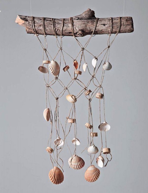 Decorations With Shells And Sea Snails