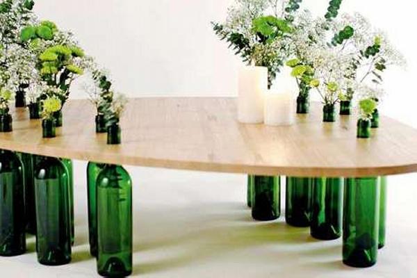 Glass Bottles Art