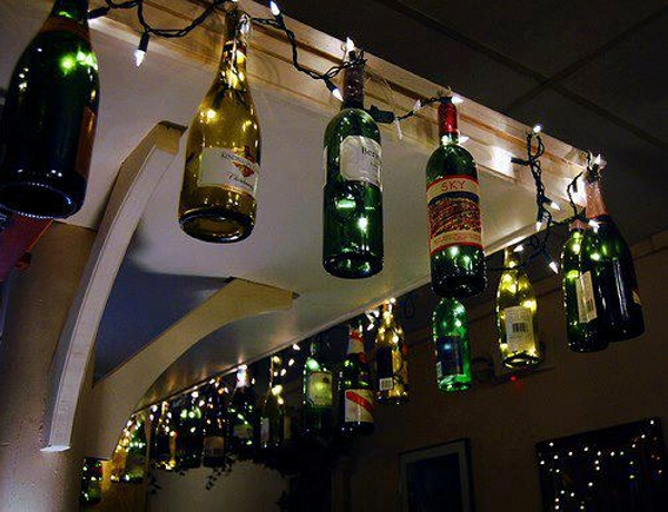 Glass Bottles Decor Plans
