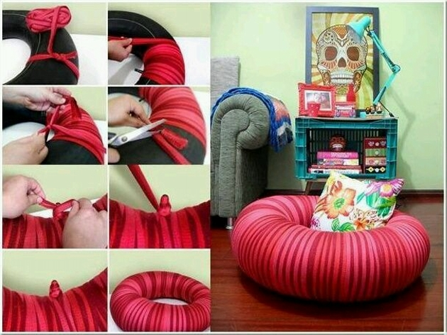 Ideas to Reuse Used Tyres
