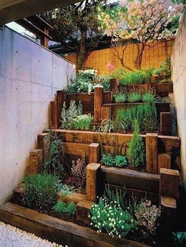 Japanese garden decor ideas upcycle art - Oriental garden design ideas ...