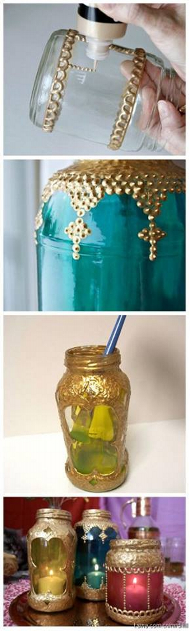 Mason Jars Recycled