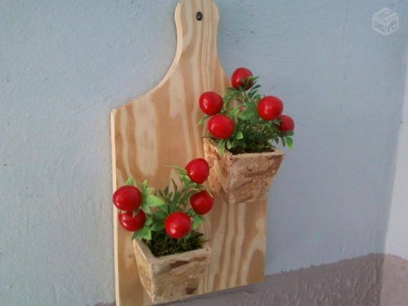 Meat Board Upcycled Craft
