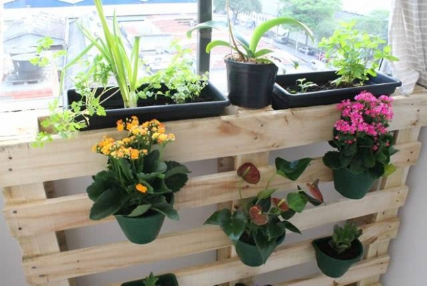 Pallet Planter Plan