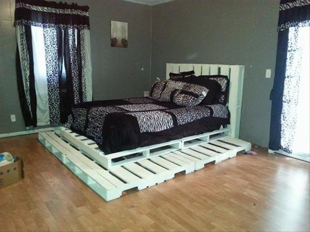 King Size Bed Frame Diy Easy