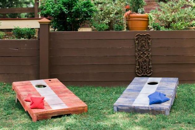 Pallets Wood Corn Hole Boards