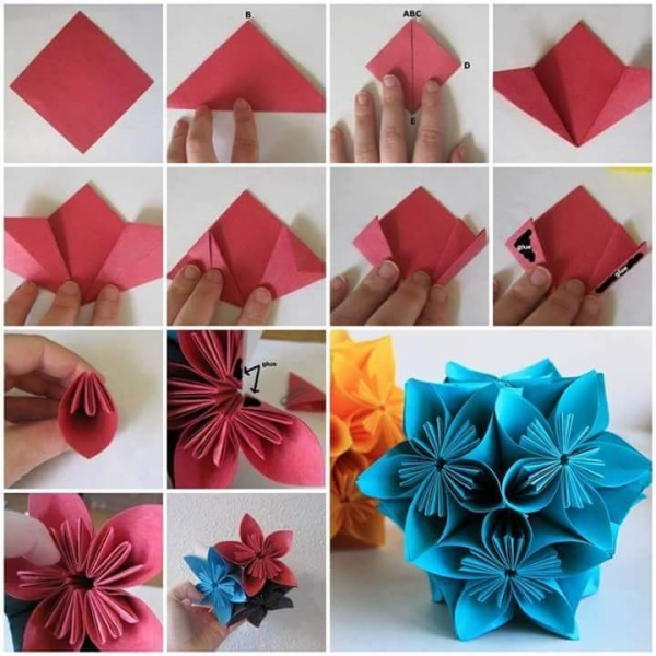 Paper Flower Projects