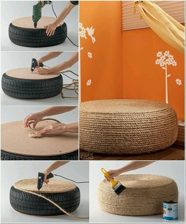 Reuse Used Tyres