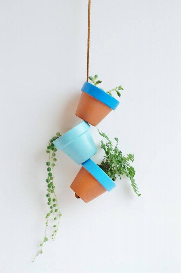 Small Decorative Hanging Pots