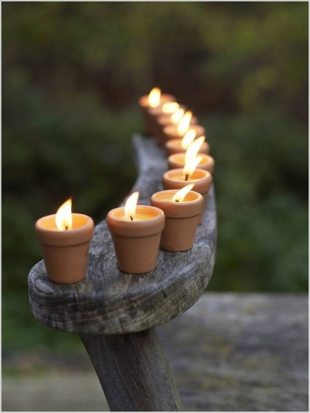 Small Decorative Pots Candels