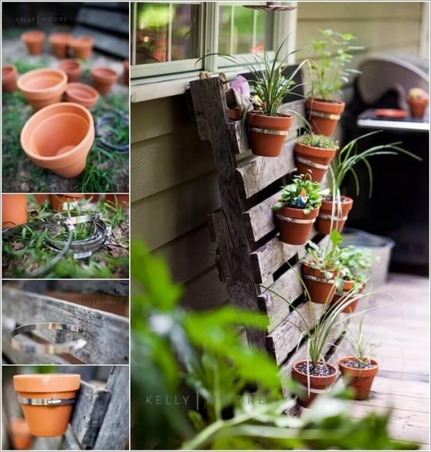 Small Pots Garden Planter