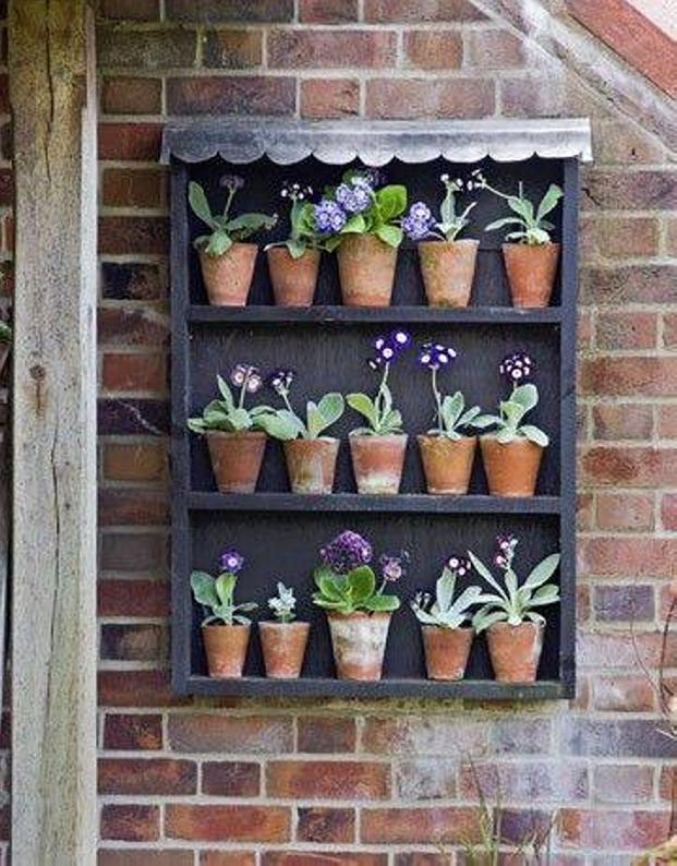 Small Wall Decor Pots