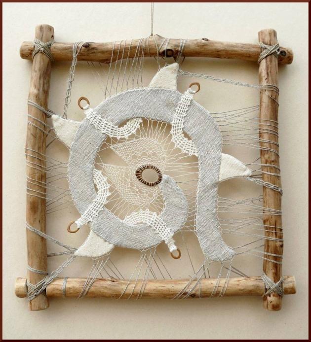 Textile Art Idea