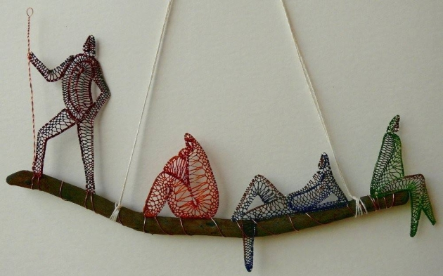 Textile Upcyled Art