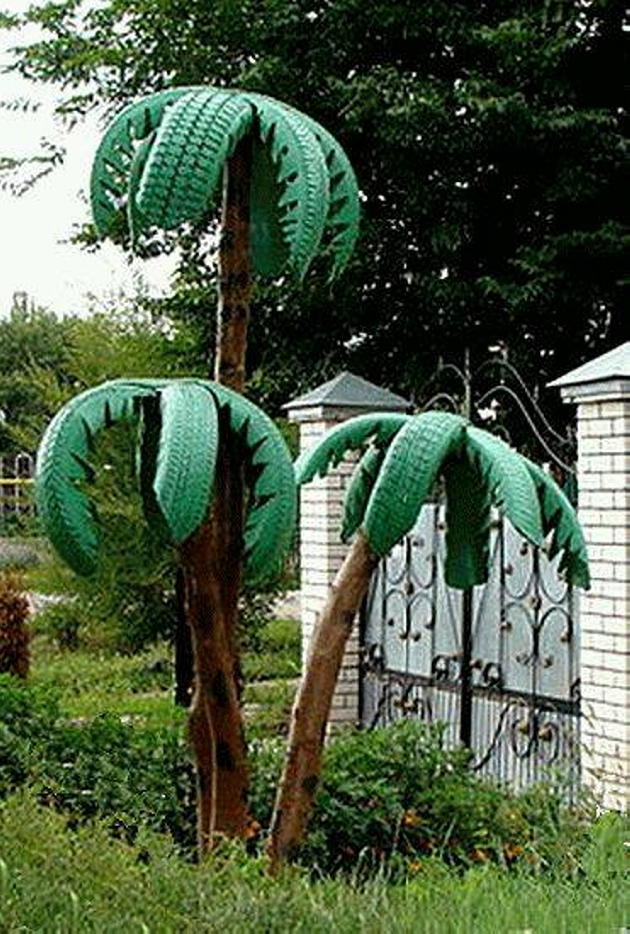Tree from Reuse Used Tyres