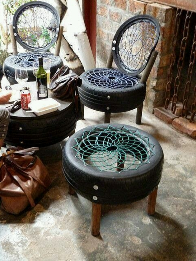 Used Tyres Furniture