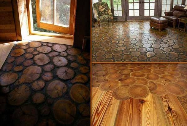 Wood Upcycled Floor
