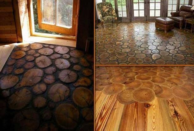 Wood Upcycled Floor