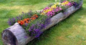 Wood Upcycled Garden Planter